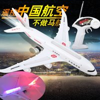 air bus models - Toy remote control bus a380 model four channel remote control musical and air plane toy