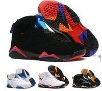 Wholesale Hot sale AJ7 High Quality Men s Basketball Shoes Cheap Sneakers Men Athletic Shoes