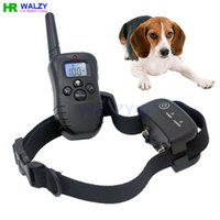 1000m dog shock collar - Dog Training Collar Rechargeable and Full Waterproof Shock vibration with Key and screen background light H188B