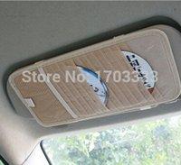 Wholesale High quality Auto Sun Visor CD Holder CD Storage For Car CD Case And Bag Universal Design