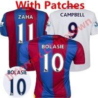 eagles football jerseys - 2016 Crystal Palace Jersey Crystal Palace The Eagles camisas Yohan Cabaye Bolasie McArthur Wickham Home Football Shirt Kit Top Quality