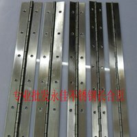 Wholesale Yongjia long rows of stainless steel long hinge cabinet door hinge width MM length of m thickness MM