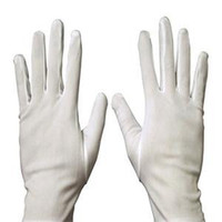 Wholesale HE New Practical Household Cleaning Tools Medium Thick Household Sanitary Gloves White Cotton Polyester Gloves Multipurpose EH
