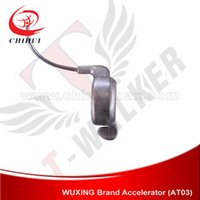 Wholesale High Quality WUXING Brand Handlebar Thumb Throttle with mm Wire for Electric Scooter Electric Bike