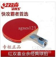 Wholesale Double happiness table tennis ball double s table tennis ball ping pong shot top sale