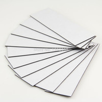 adhesive magnet sheets - 10pcs Self Adhesive Flexible Magnetic Sheet x30x1mm Rubber Magnet Car Ad Magnets