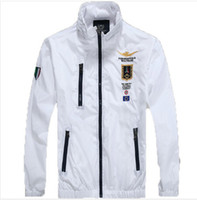 air worsted - New high quality Aeronautica Militare Jackets Sports Men s polo Air Force One jackets Italy brand jackets jacket MAN clothes