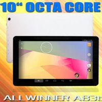 Wholesale Newarrival Inch Octa Core Tablets Pc Android Capacitive Screen GB GB Bluetooth HDMI WIFI External USB G Dongle GB GB TF Cards