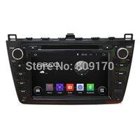 De WiFi 3G de l'Androïde 4.4.4 DVD de Voiture pour Mazda 6 2008-2012 avec le GPS,Canbus,Bluetooth,Support DVR,OBD,1024*600 Écran,Carte 8G