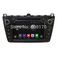 Wholesale WiFi G Android Car DVD for Mazda with GPS Canbus Bluetooth Support DVR OBD Screen G Map