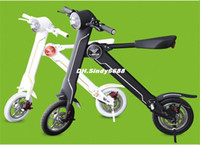 eec electric scooter - 2015 New Foldable Electric Bicycle Km AH V Samsung Lithium Battery Electric Power Bike Folding Electric Scooter For Adult
