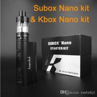 vapes - kanger subox nano starter kit kangertech subox nano purple red black w rda boxs mods subox nano ml subtank ecigarette vapes kits
