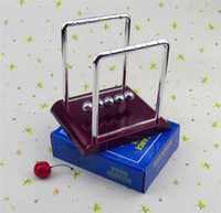 Wholesale Newton Cradle Pendulum Ball Energy Conservation Bumper Ball Physics Science Balance Ball