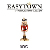 nutcrackers - New design NUTCRACKER Floating Charms Fit floating Lockets