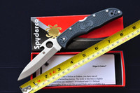 features - Spyderco C10 PGYW ENDURA4 EMERSON OPENING FEATURE Tactical Folding Knife VG Blade FRN Handle Camping Knives combat knife