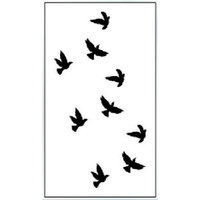 Wholesale Sex Products Temporary Tattoo Tattoos For Man Woman Waterproof Stickers makeup Body Decal make up in my heart Tattoo WM023