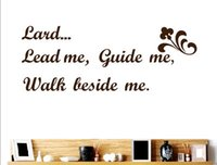 bible word - Bible words Lord Lead Guide Me Wall Decor Removable Mural Vinyl Decal Sticker
