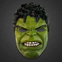animated easter animals - Disguise Avengers Hulk Adult Latex Deluxe Costume Mask Adults Children s Invincible Hulk Mask For Children s Day Animated Cartoon Party And