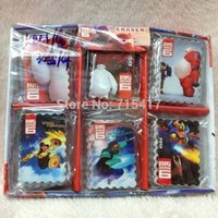 Wholesale Big hero baymax mini rubber baby girls boys cartoon eraser kids school stationery children rubbers