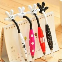 Wholesale 1505 OP creative cute Japan mickey mouse palm ballpoint pen color pens