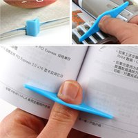 Wholesale Thumb Book Holder Bookmark Finger Ring Book Markers for Books Stationery pc