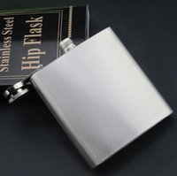 Wholesale 2015 hot ounce stainless steel hip flask alcohol flask pocket flask wine flask liquor flask HHA38