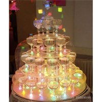 Wholesale Carton Flash Ice Cube New Water Actived Led Light Put Into Water Drink Flash Automatically for Party Wedding Bars Colorful Crystal Cube
