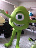 Wholesale mascot costumes for adults christmas Halloween Outfit Fancy Dress Suit MIKE MONSTER INC SULLY SULLY GRU MINION