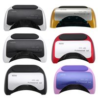beauty timer - V W Professional CCFL LED UV Lamp Light Beauty Salon Nail Dryer with Automatic Induction Timer Setting Nail art tools