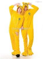 adventure time costumes - New Adventure Time Halloween Chirstmas Flannel Cosplay Jake Costume Unisex Onesie Pajama Sleepwear Party