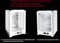 Cheap Ultimaker 2 UM2 extended 500MM acrylic panel case for DIY 3D printer panel frame kit case shell