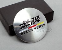 accord decals - set Car Styling Mugen Power Sticker Car Wheel Center Hub Cap Sticker Emblem Decal For Mugen Honda Accord Civic FIT