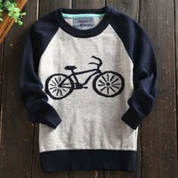 kids winter sweater - Baby Pullover Sweaters Kids Pullover Boys Sweater Child Clothes Kids Clothing Autumn Winter Crochet Sweater Children Pullover C10473