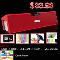 best stereo sound card - GET G TF card FREE Nizhi SDY Sardine Best HIFI Bluetooth Speaker with FM Radio Stereo Sound Box MIC Mini Portable Speaker