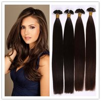 "Cheap 18""-28"" human hair flat tip hair extension flat tip hair Indian hair extensions 1G S 100G PC 300G Lot stock Free Shipping"