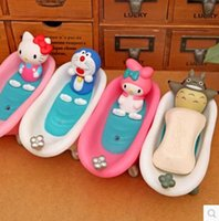 bathtub soap dish - Doraemon Hello Kitty Soap Dishes Totoro Bathroom Ware Plastic Bathtub Style Soap Box