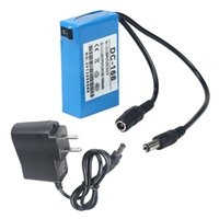 Wholesale Mini Portable DC V Rechargeable Li ion Battery Pack for CCTV Camera Home