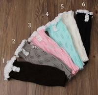 Wholesale New Children Cotton Socks Toddlers Baby Leg Warmer Tube Socks Arm Warmers Baby Leggings Leg color B001