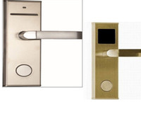 Wholesale Factory Price RFID Hotel Door Lock Can Open By Card And Keys With SoftWare New Fashion