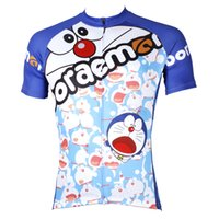 Wholesale Cycling Jersey Men Anime Doraemon Cycling Clothing Men Cartoon High Quality Short Sleeve Cycling Clothes Jersey
