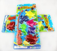 games for beach - Sand Play Beach Toys For Children Fishing Game Small Animals Fishing Rod Water Fun Toys With Package