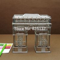 arc deals - Deal FREE SHIPMENT J39 ARC DE TRIOMPHE STATUES MODEL STAINLESS HAND MADE ART CRAFTS WEDDING BIRTHDAY HOME OFFICE GIFT PRESENT