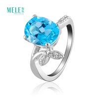aquamarine precious stone - Natural semi precious stones Crystal Ring women Ring Topaz Sterling Silver fashion jewelry aquamarine Switzerland