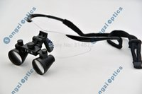 Cheap Free Shipping Hight Quality Ultra-Light Black sport frame 3X Dental Loupes Medical Surgical loupes for dentist surgery
