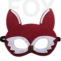 gift for children day - Children s Day Cartoon Animal Kids Mask Birthday Party Children Masquerade Party Mask Festive Cosplay Performance Children Gift Supplies