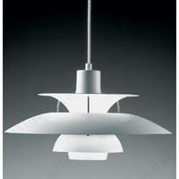 Wholesale New modern Contemporary Poul Henningsen PH5 Pendant lamp Loui Poulsen Suspension Lamp Pendant Chandelier