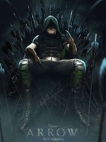 arrow charts - Custom TV show arrow oliver queen Prints high quality poster x75cm Wall Sticker