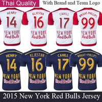 red bull - RED BULLS HENRY KLJSTAN CAHILL Thailand Quality Soccer Jersey Brand New Soccer Shirt Free Customized