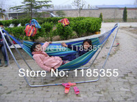outdoor furniture - New Fashion Swinging Camping Outdoor Furniture Air Chair Hanging Portable Cotton Fabric Hammock