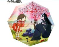 arrietty hayao miyazaki - Studio Ghibli SG The Borrower Arrietty TBA Anime Spirited Away Print Umbrella Three Folding Tiny Miyazaki Hayao MH Chihiro